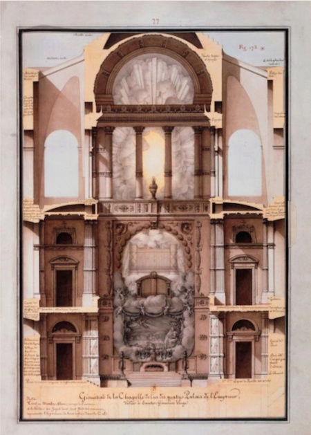 Exposition : Jean-Jacques Lequeu, bâtisseur de fantasmes. Petit Palais, Paris Captu217