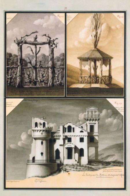 Exposition : Jean-Jacques Lequeu, bâtisseur de fantasmes. Petit Palais, Paris Captu236