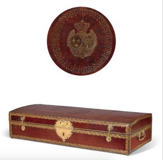 Malles et coffres de voyage de Marie-Antoinette Captu314