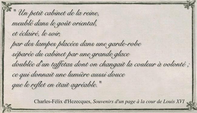 Le boudoir turc de Marie-Antoinette à Fontainebleau - Page 4 Captu371