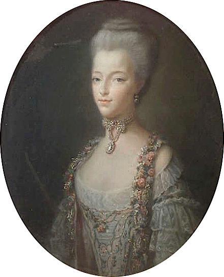 Portraits de Marie-Antoinette par et d'après François-Hubert Drouais Captu420