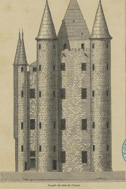 La famille royale à la prison du Temple : plans et aménagements - Page 3 Captu426