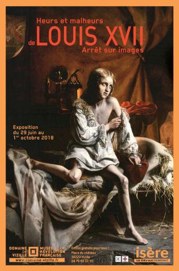 Expo : Heurs et malheurs de Louis XVII, arrêt sur images. Musée de la Révolution française, Vizille Captu429