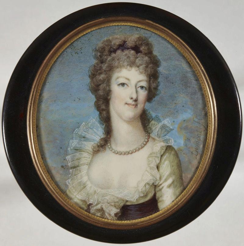 Marie Antoinette, miniatures attribuées à ou d'après François Dumont - Page 2 Captu445