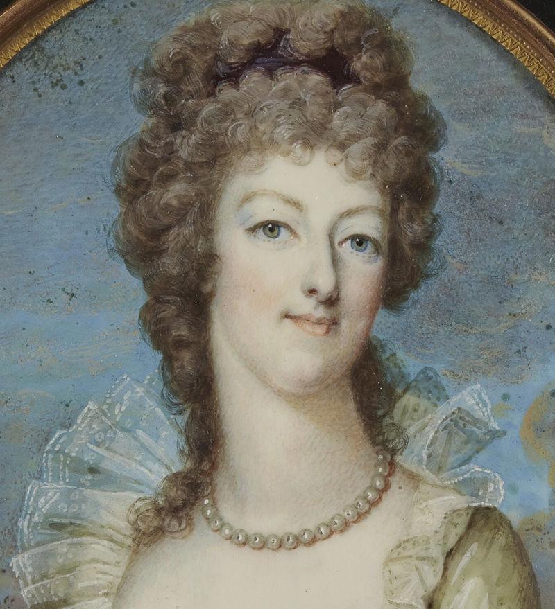 Marie Antoinette, miniatures attribuées à ou d'après François Dumont - Page 2 Captu446