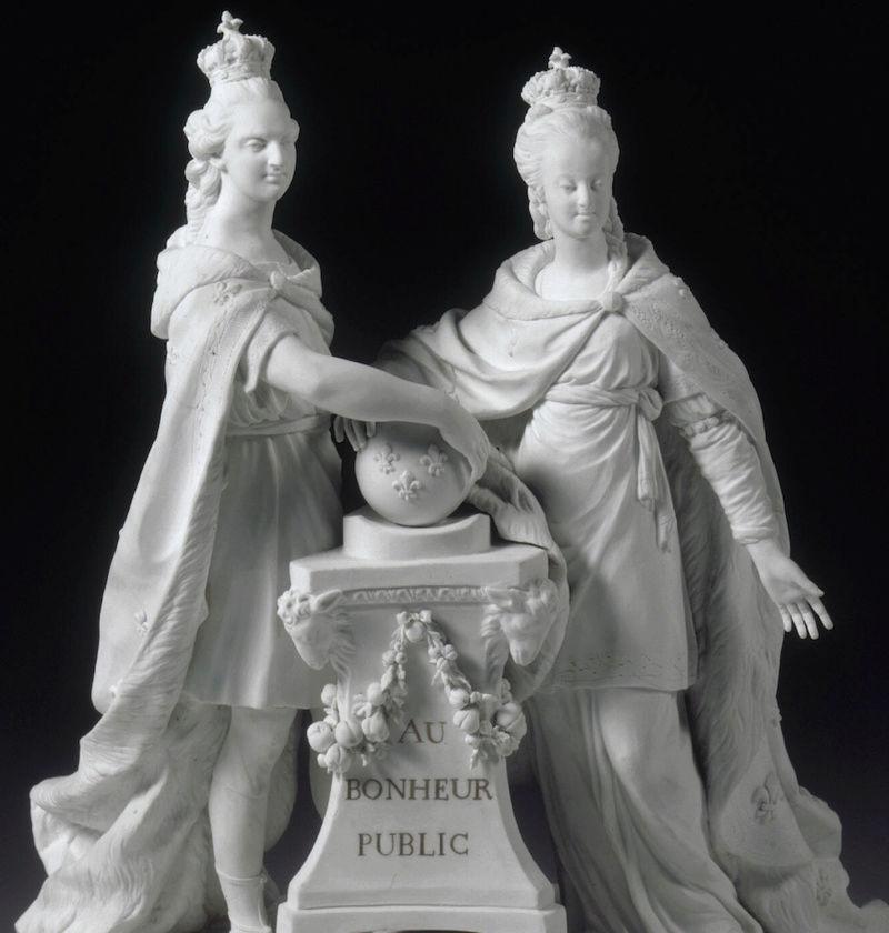 Marie Antoinette, par (et d'après) Louis-Simon Boizot Captu477