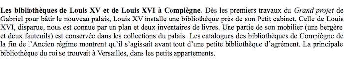 Exposition : Secrets de bibliothèques, au château de Compiègne Captur18