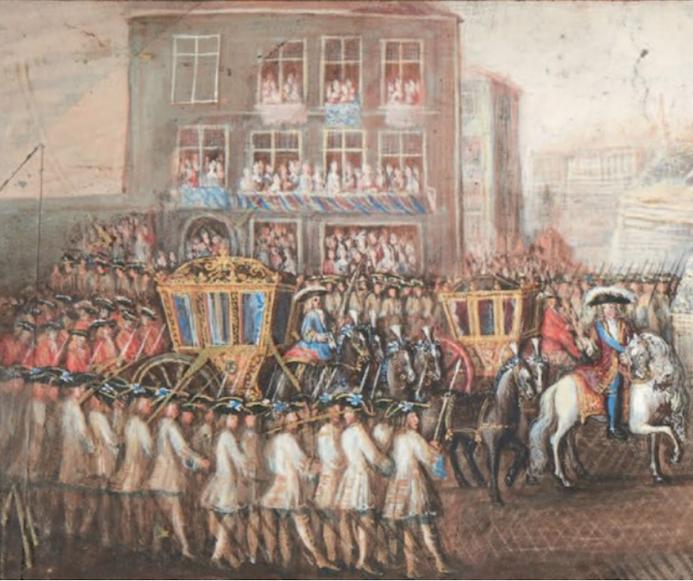 Yirmisekiz-Mehmed Çelebi Efendi - Ambassadeur de la Sublime Porte en visite en France de 1720 à 1721 Captur80