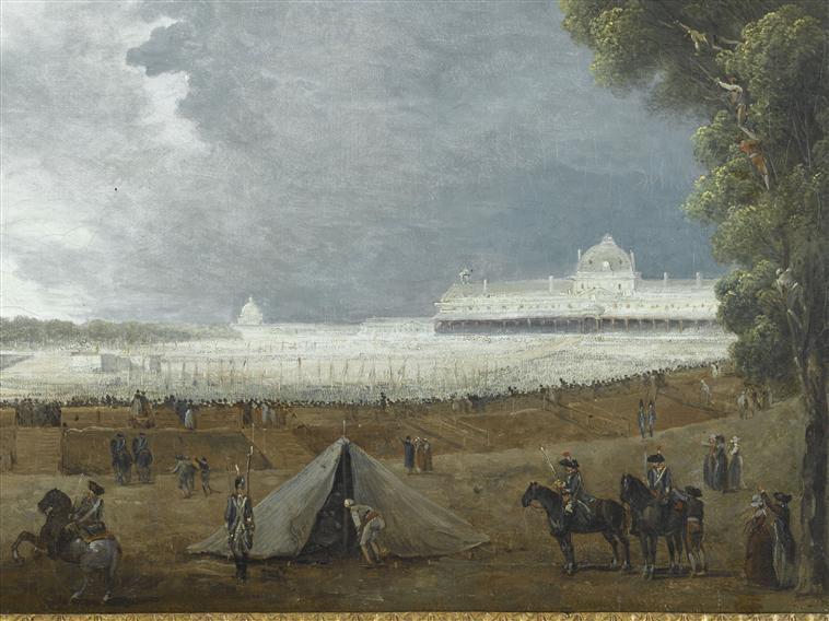 fédération - La Fête de la Fédération (14 juillet 1790)  Champ_10