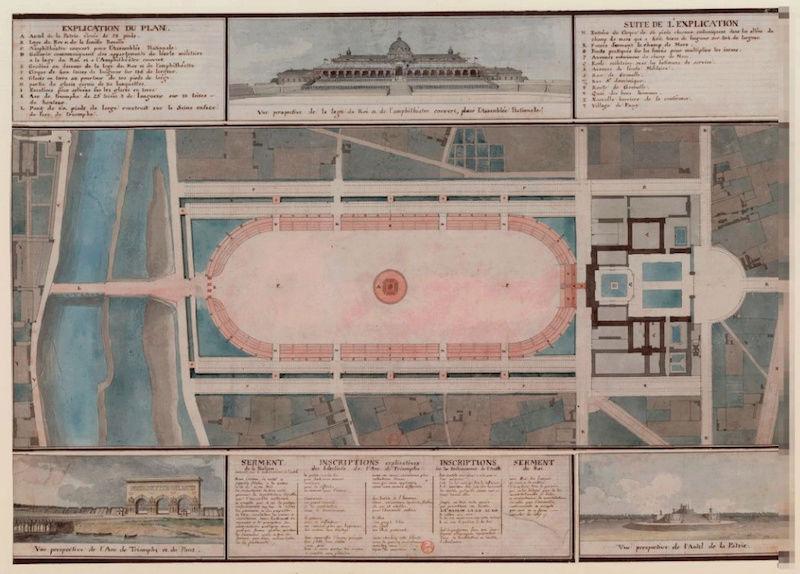 fédération - La Fête de la Fédération (14 juillet 1790)  Champ_11
