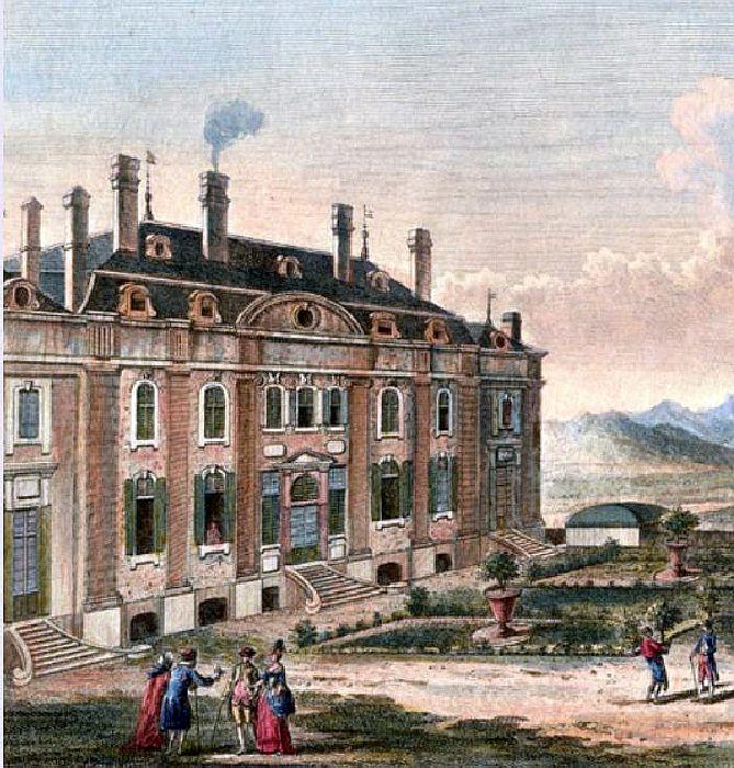 Le château de Voltaire, à Ferney Chatea12