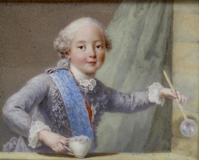 Portraits de famille de Louis XV sur une tabatière Comte_17