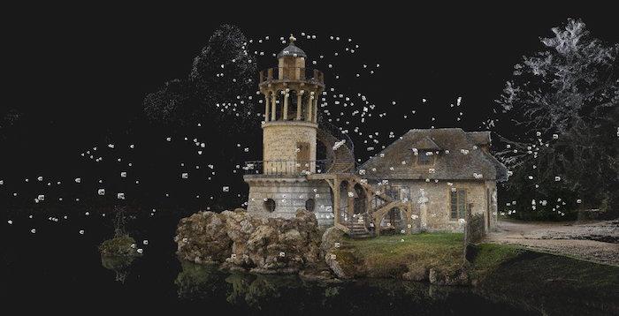 Numérisation 3D et visite virtuelle du hameau de Marie-Antoinette Dabllb10