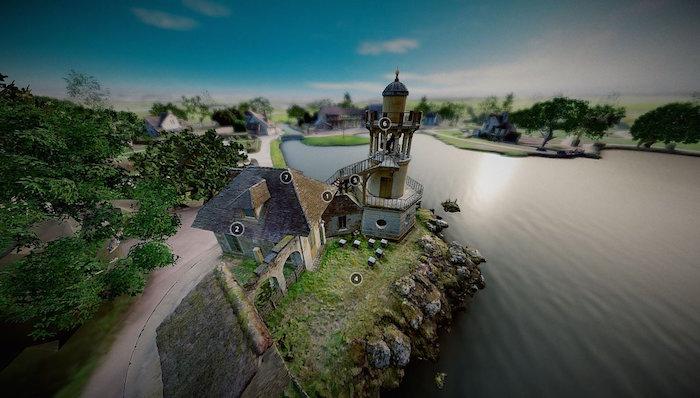 Numérisation 3D et visite virtuelle du hameau de Marie-Antoinette Dboxpx10
