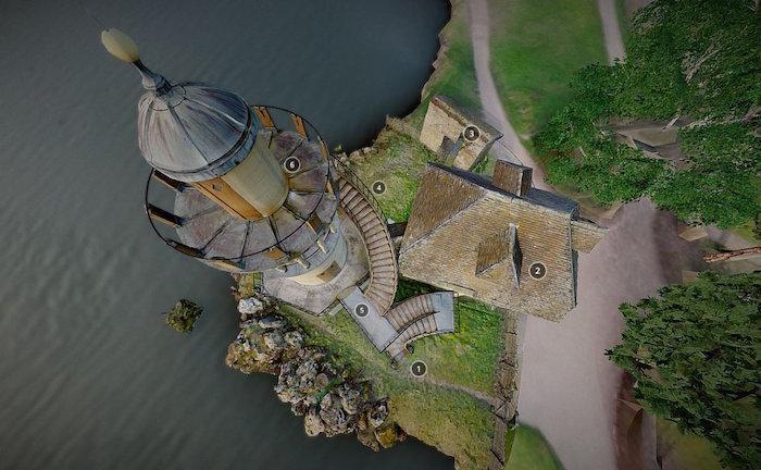 Numérisation 3D et visite virtuelle du hameau de Marie-Antoinette Dboxq510