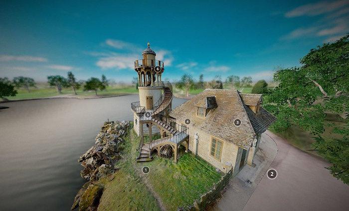 Numérisation 3D et visite virtuelle du hameau de Marie-Antoinette Dboxs_10
