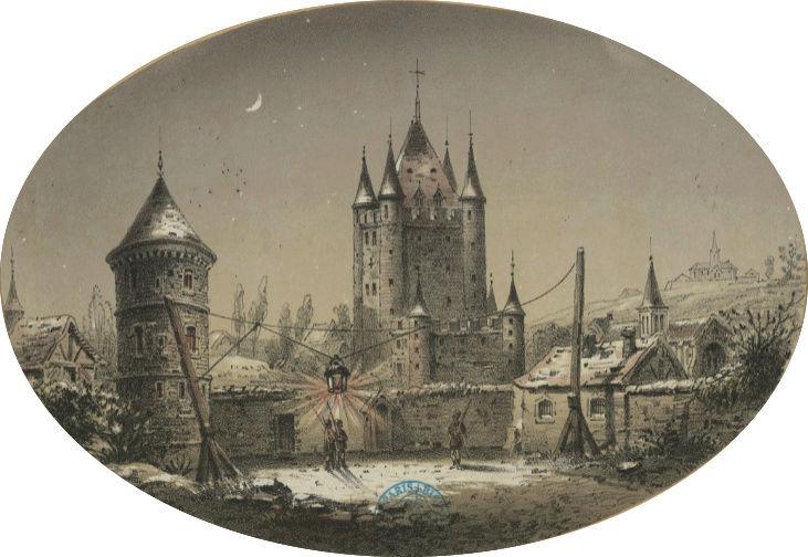 Plans et aménagements du donjon du Temple : la grande tour, la petite tour Donjon10