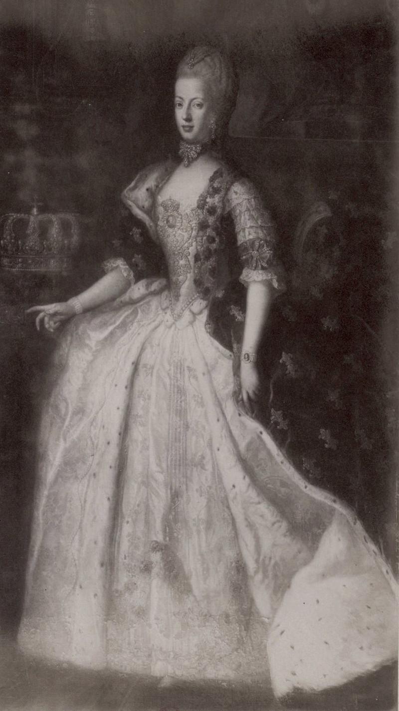 Portraits de Marie-Antoinette par et d'après François-Hubert Drouais Drouai14