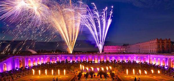 Marie-Antoinette, le destin d'une reine. Spectacle pyrotechnique, Orangerie du château de Versailles  En-tet10