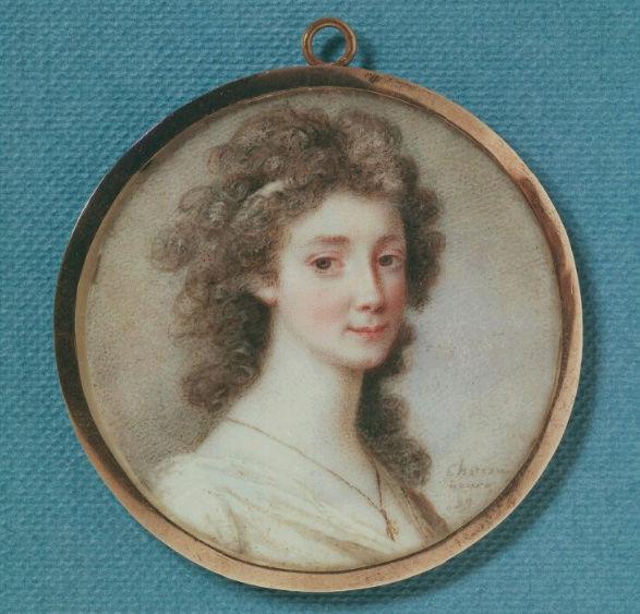 La comtesse Sophie Piper, née Eva Sophia von Fersen, soeur d'Axel de Fersen Eva_so10