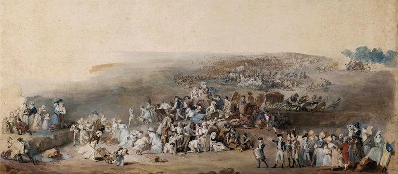 fédération - La Fête de la Fédération (14 juillet 1790)  Federa12