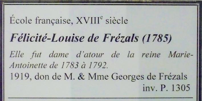 Maison et dames du Palais de la reine Marie-Antoinette - Page 7 Felici10