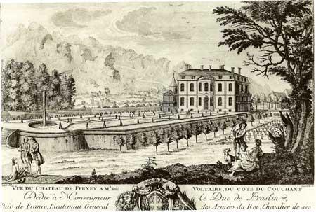 Le château de Voltaire, à Ferney Ferney10