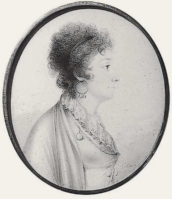 La comtesse Sophie Piper, née Eva Sophia von Fersen, soeur d'Axel de Fersen Fersen12