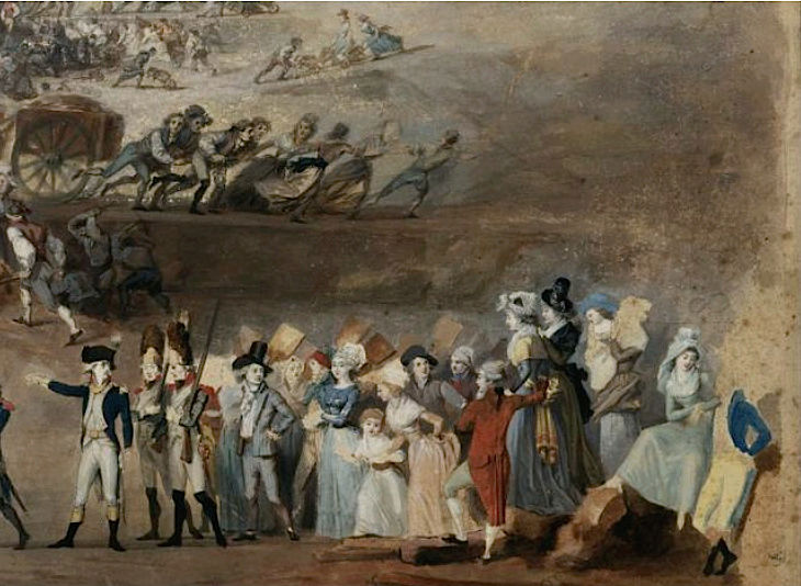 fédération - La Fête de la Fédération (14 juillet 1790)  Fete_f11