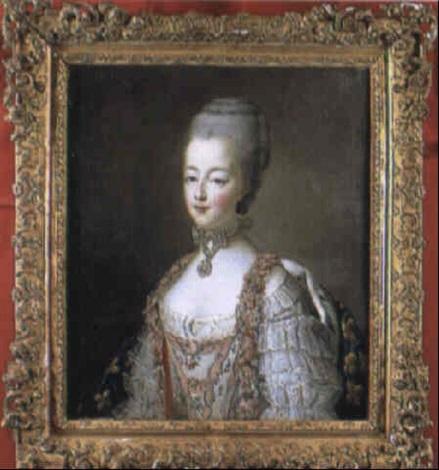 Portraits de Marie-Antoinette par et d'après François-Hubert Drouais Franco15