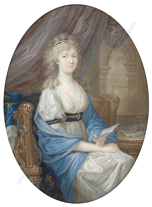 Portraits de Madame Royale, duchesse d'Angoulême - Page 5 Fueger11