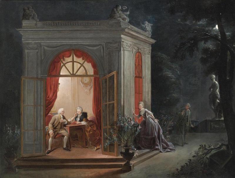 Le mariage, au XVIIIe siècle  - Page 6 Gautie10