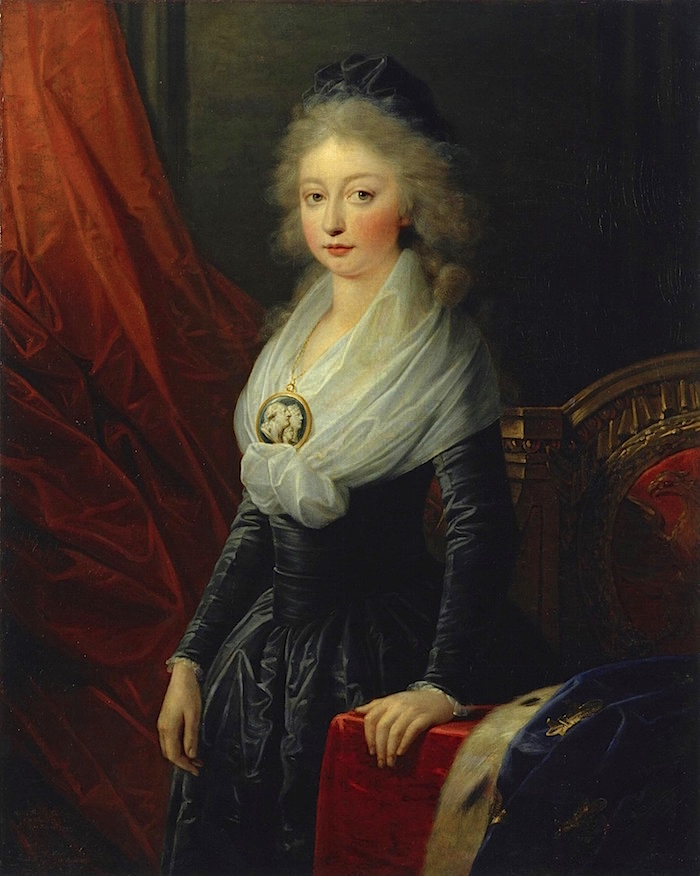 Portraits de Madame Royale, duchesse d'Angoulême - Page 5 Heinri10