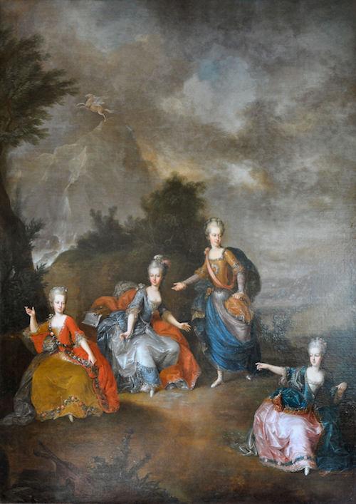 Portraits de Marie-Antoinette, enfant et jeune archiduchesse - Page 6 Il_par11