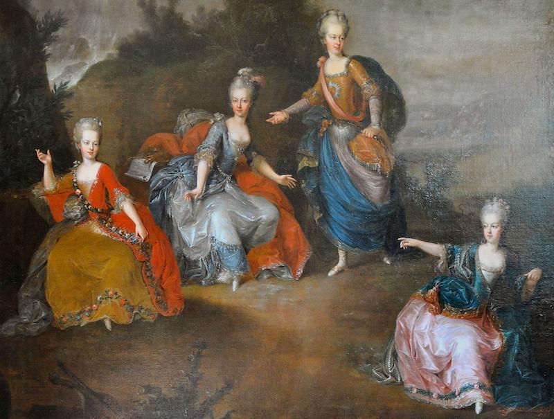 Portraits de Marie-Antoinette, enfant et jeune archiduchesse - Page 6 Il_par12