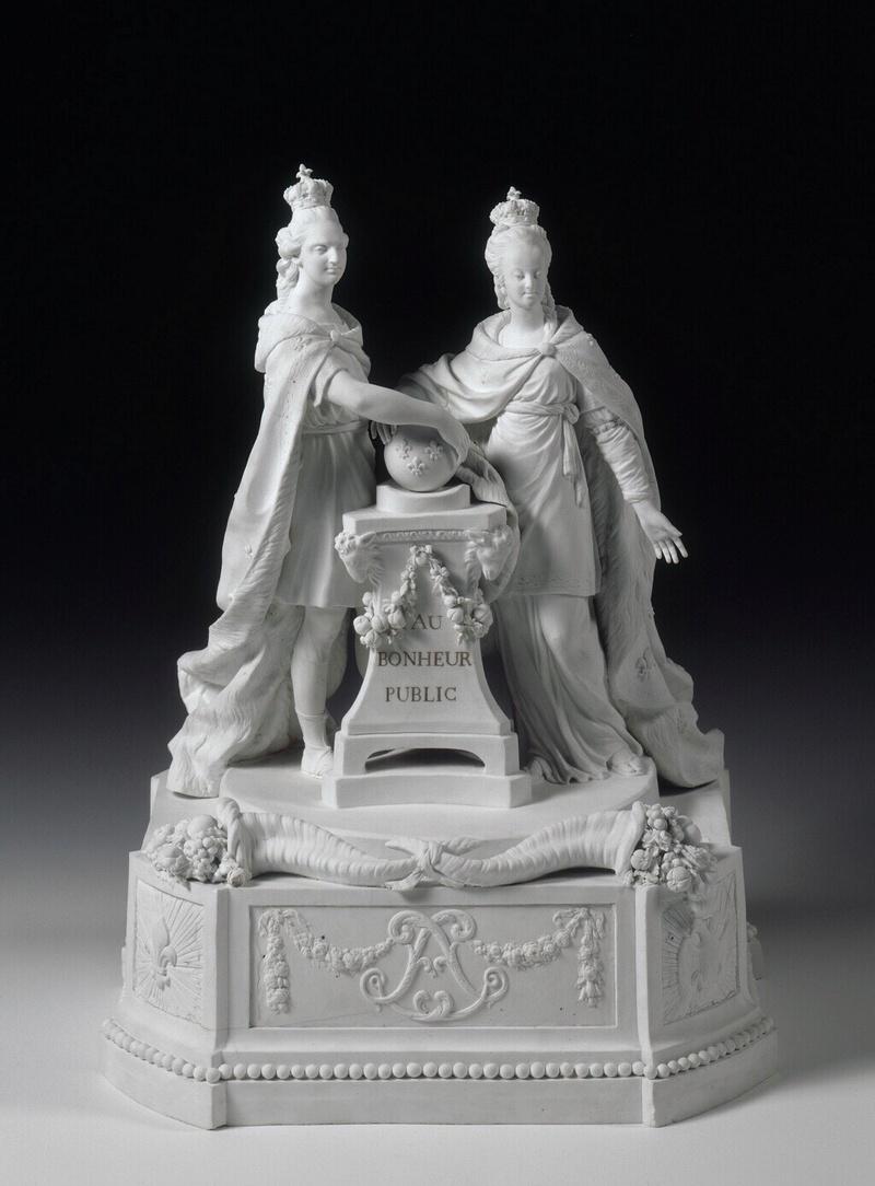 Marie Antoinette, par (et d'après) Louis-Simon Boizot Imagep10