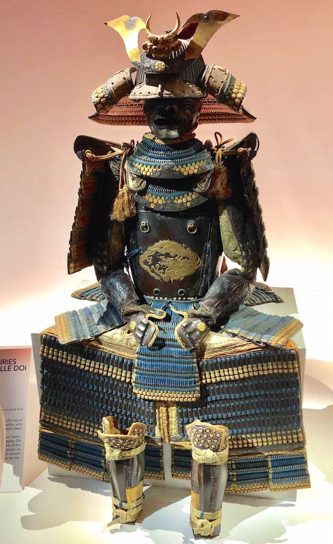 Daimyos, les seigneurs de la guerre au Japon - Exposition au Musée Guimet Img_1013
