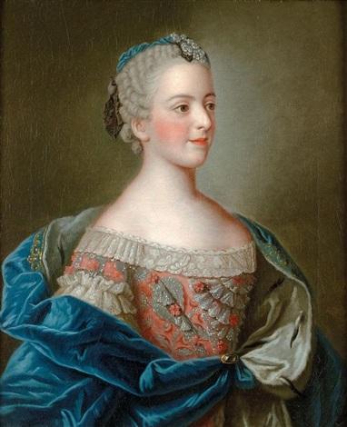Portraits de famille de Louis XV sur une tabatière Jean-e21
