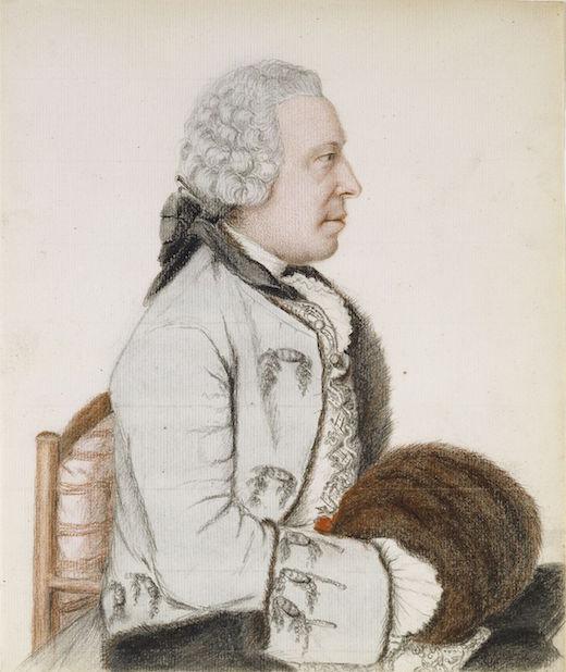 Galerie de portraits : Le manchon au XVIIIe siècle  Jean-e23
