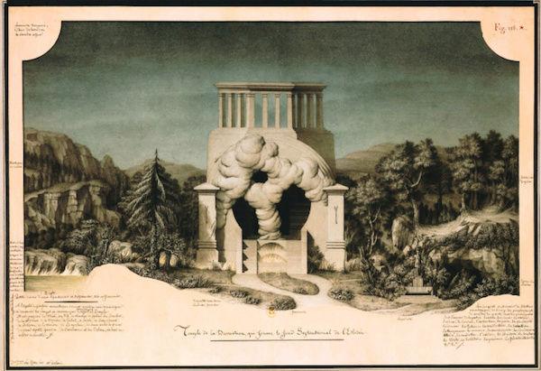 Exposition : Jean-Jacques Lequeu, bâtisseur de fantasmes. Petit Palais, Paris Jean_b12