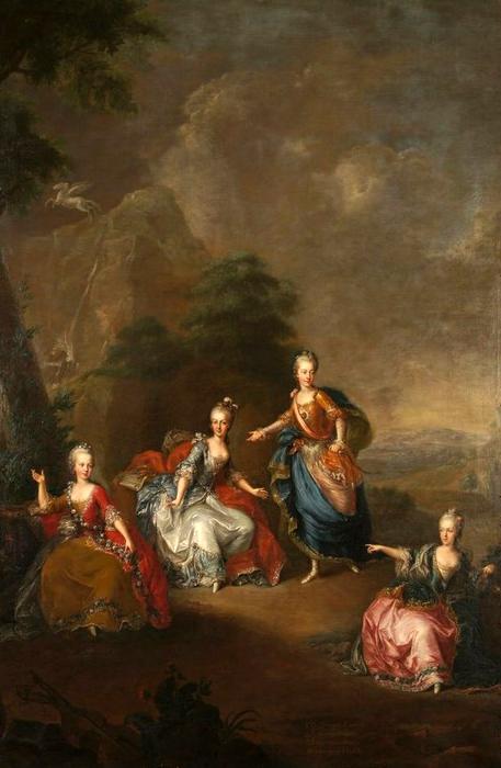 Portraits de Marie-Antoinette, enfant et jeune archiduchesse - Page 6 Johann12