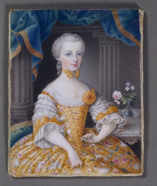 Portraits de l'archiduchesse Marie-Josèphe Josefa11