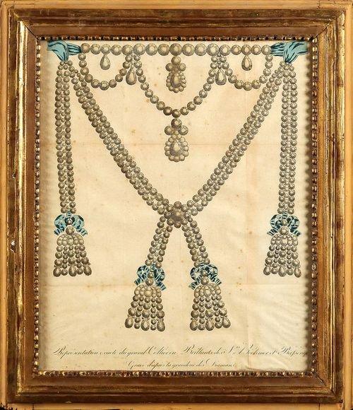 Le collier dit de la reine Marie-Antoinette (L'affaire du collier de la reine), et ses répliques La-col10