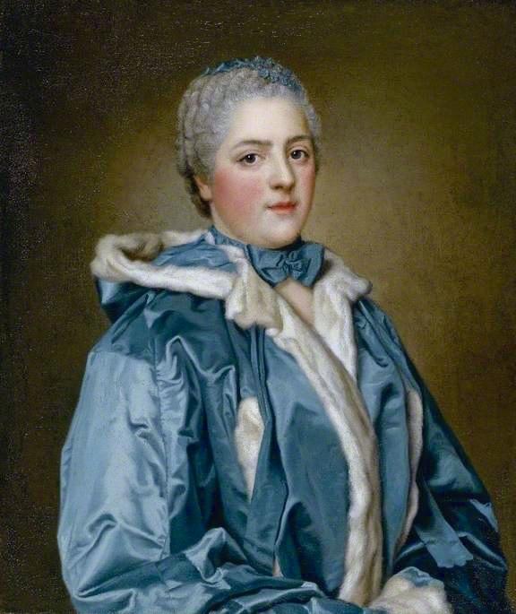 Portraits de famille de Louis XV sur une tabatière Liotar18