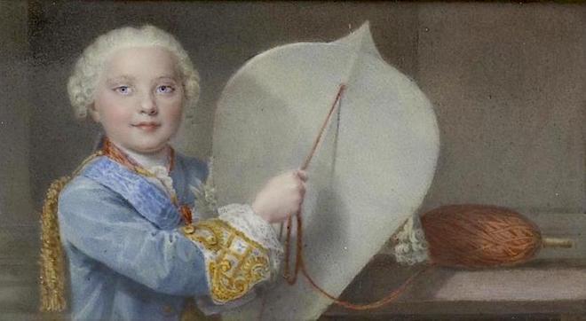 Portraits de famille de Louis XV sur une tabatière Louis_22