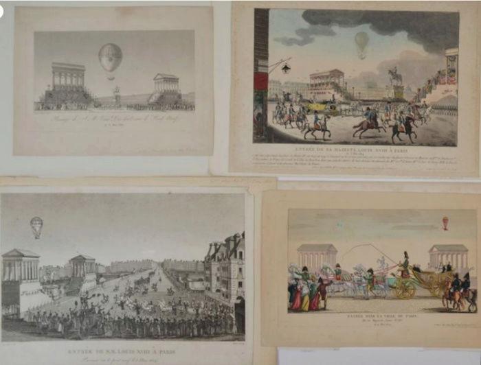 La conquête de l'espace au XVIIIe siècle, les premiers ballons et montgolfières !  - Page 7 Louis_23