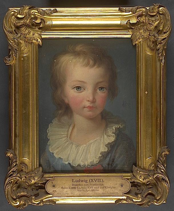 Portraits de Madame Royale et de Louis-Joseph par E. Vigée Le Brun (1784 et 1789) Louis_25