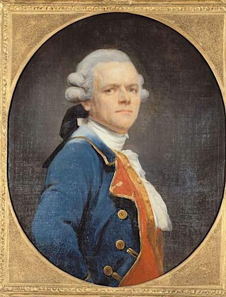 Le peintre Joseph Ducreux M0729010