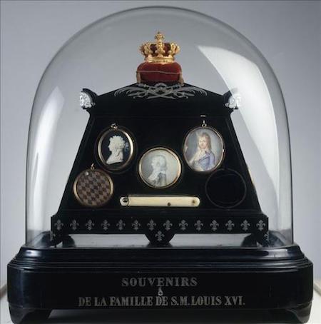 Madame de Tourzel, le corps et la sépulture de Louis XVII M1104011