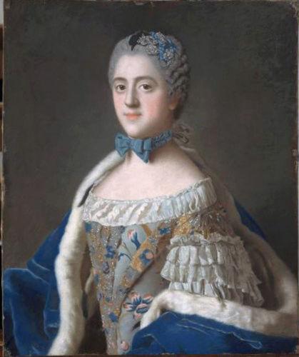 Portraits de famille de Louis XV sur une tabatière Madame15